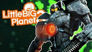LittleBIGPlanet 3 Pacific Rim Playstation 4 Gameplay