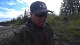 Ловим больших СИГОВ у подножья хребта в Якутии Yakutia