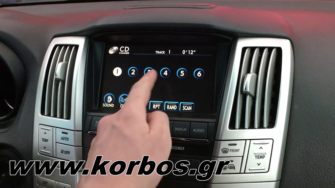 Usb , Aux , Sd Card Phonocar Adapter for Lexus factory multimedia www.korbos.gr