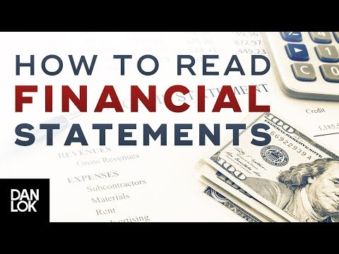 Business Profit Maximizer #2 - How To Read Financial Statements