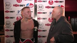 James Metcalf - Post Fight Interview, 21st March 2015