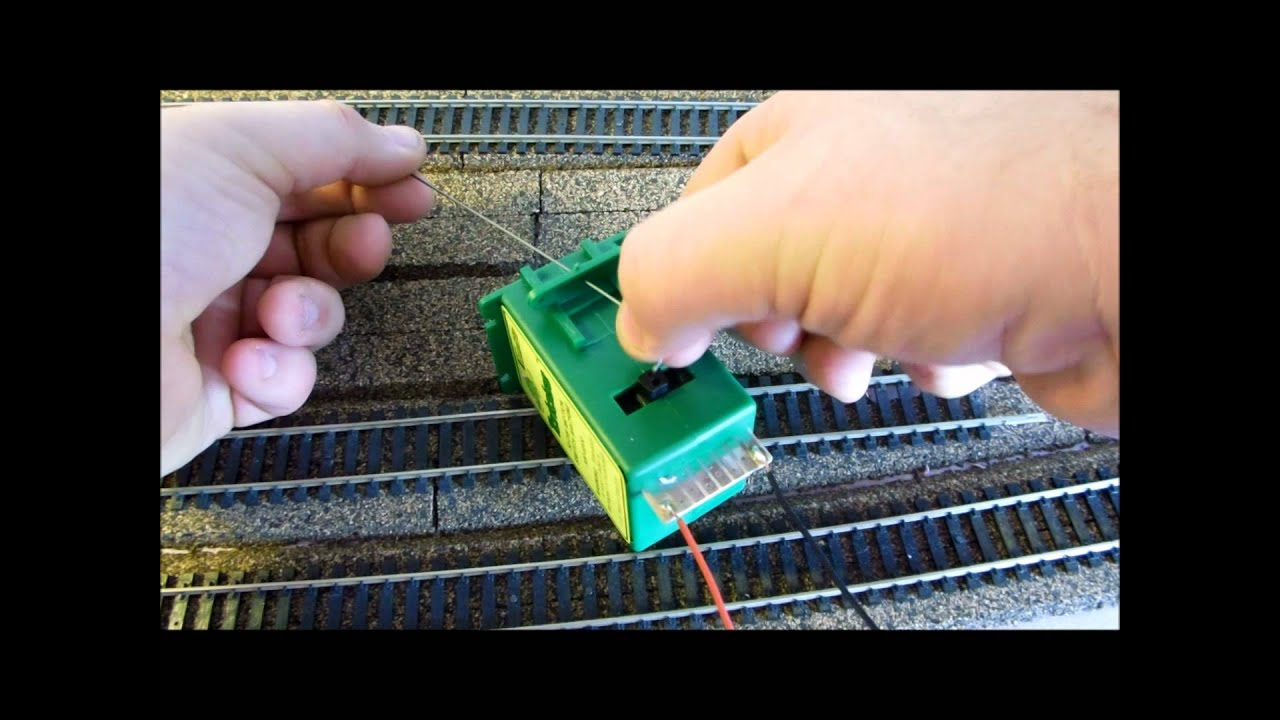 how to install a tortoise slow motion switch machi