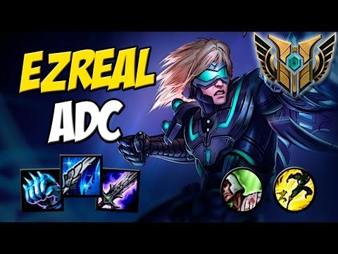Maestria 7 - EZREAL ADC BLUE BUILD GAMEPLAY - Quem disse que EZ não da dano ? - League of Legends