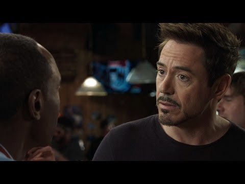 Iron Man 3 Clip - Rhodes is Worried About Tony