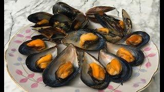 Мидии на Огне / Ловим и Готовим Черноморских Мидий / Mussels Recipe/ Простой Рецепт Мидий в Ракушках