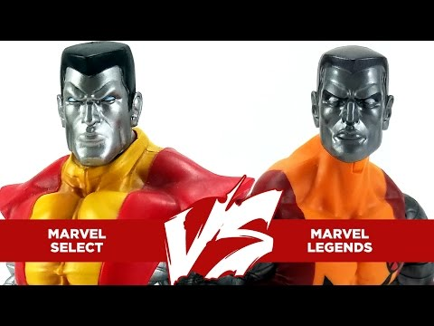 Versus #22 - Marvel Select Colossus vs Marvel Legends 2017 Colossus