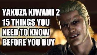 Yakuza Kiwami 2 - 15 Things You NEED To Know Before You Buy