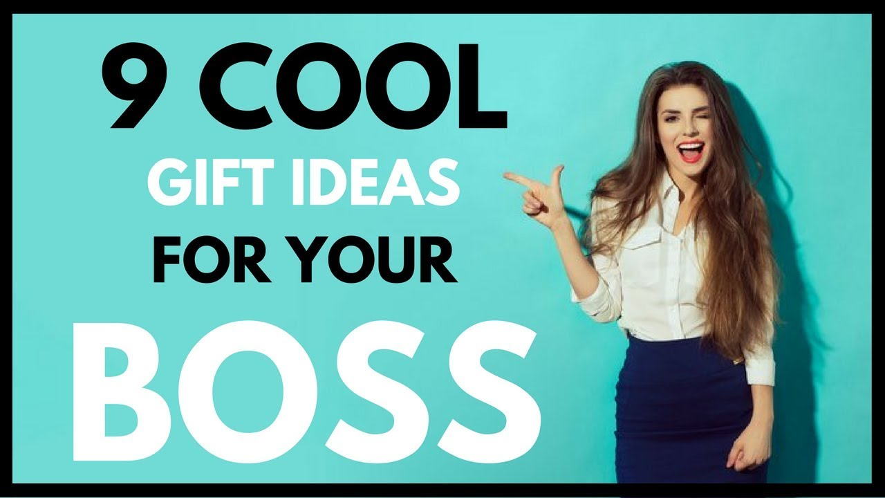 9 Cool Gift Ideas For Your Boss Co Worker 1 Youtube
