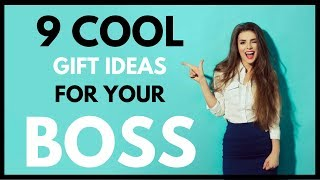 9 Cool Gift Ideas For Your Boss & Co-worker ❤ #1