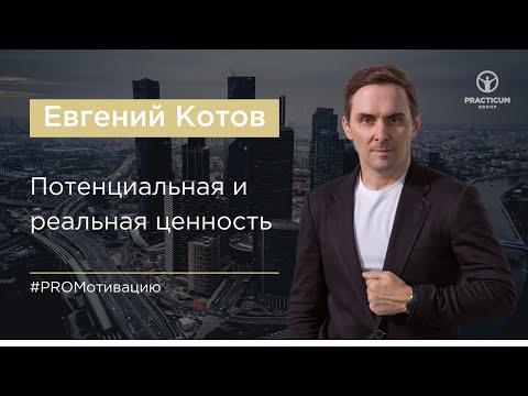 Евгений Котов. Потенциальная и реальная ценность