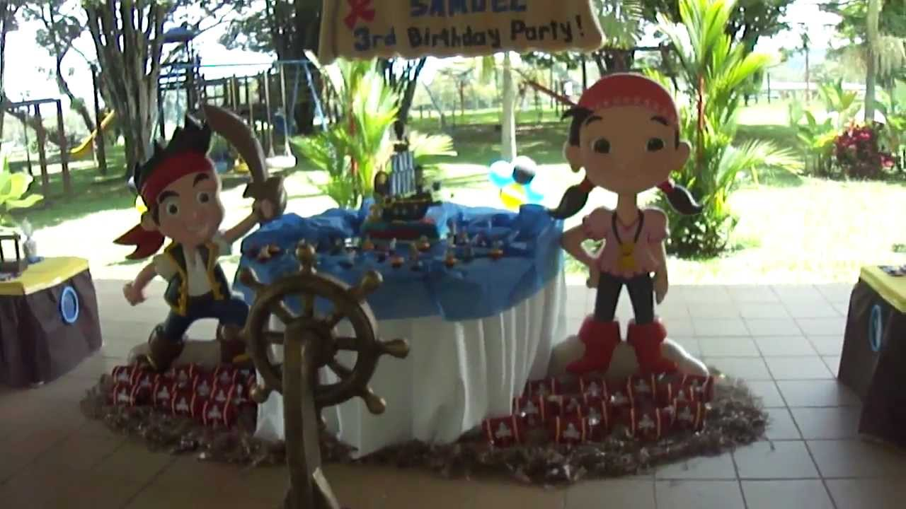 Decoraciones Para Fiestas Infantiles De Jake Y Los Piratas