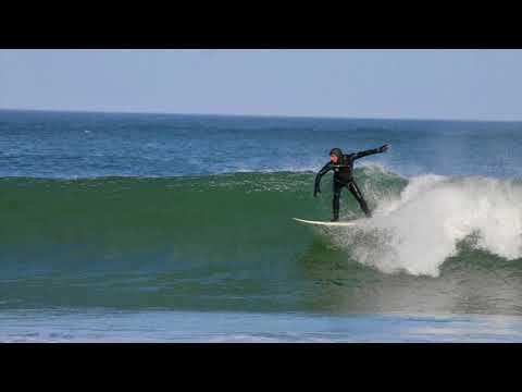 Surfers At Truro's Coast Guard Beach, Music By Bruce Maclean