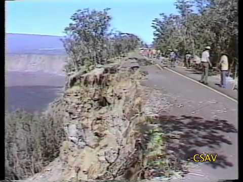 CSAV Hawaii: 1983 Earthquake Hawaii Road Damage