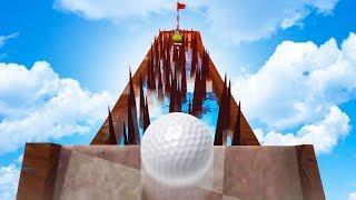 JUMP THE SPIKES! - Golf It