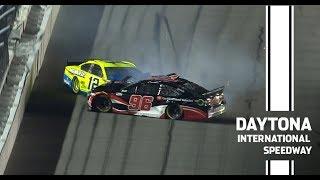 Suarez's Daytona 500 hopes dashed after Duel crash   NASCAR at Daytona International Speedway