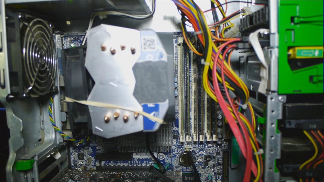 HP Z400 Artic Freezer Cooler Update