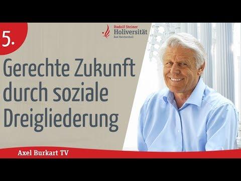 Axel Burkart TV-Die soziale Dreigliederung/Freiheit,Gleichheit & Brüderlichkeit-wie verwirklichen?