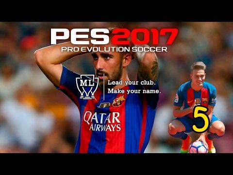 Pes 2017 (PC) II LM #5 II FC BARCELONA II LA CALMA ANTES DE LA TEMPESTAD