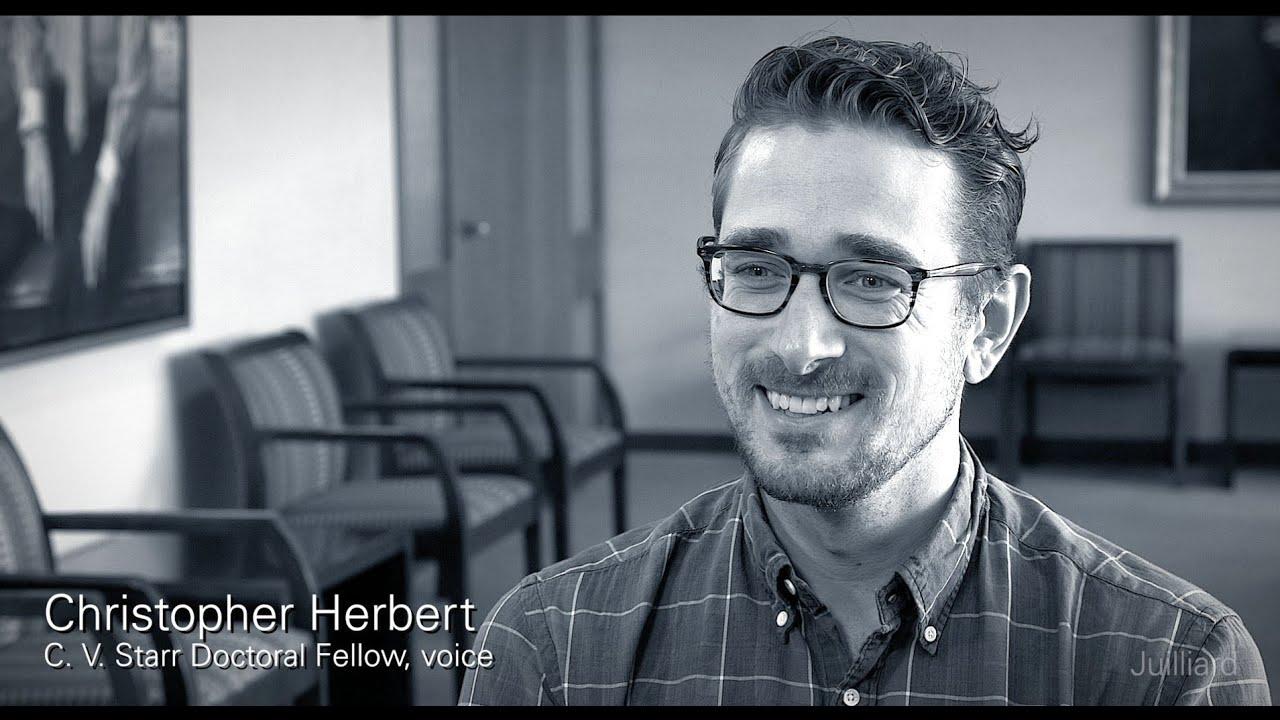 Juilliard Snapshot: Christopher Herbert