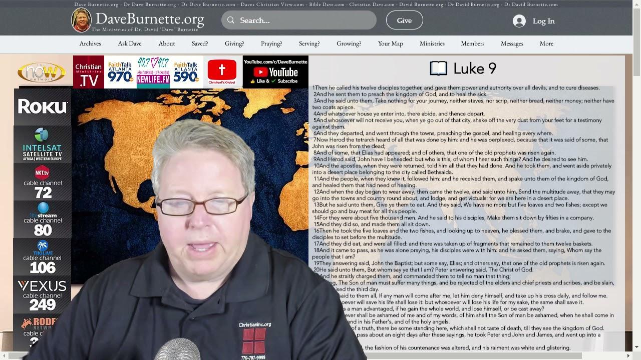 Luke 9 ✒️ Are You a Disciple?
