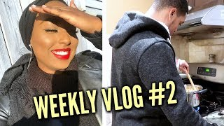 COOKING WITH MY BROTHER + STUNNA LIP PAINT!   Weekly Vlog #2   Aysha Abdul