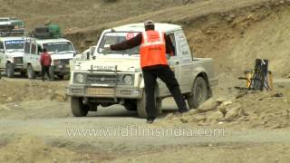 Glimpses from Competitive stages in Suru Valley - Raid de Himalaya