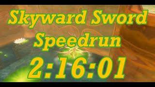 Skyward Sword Any% Speedrun in 2:16:01