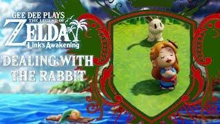 Dealing with the Rabbit | Gee Dee Plays The Legend of Zelda: Link's Awakening