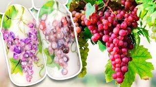 🍇 Гроздь Винограда с Объёмными Каплями 🍇 Ягодный Дизайн Ногтей Гель лаком для Летнего Маникюра