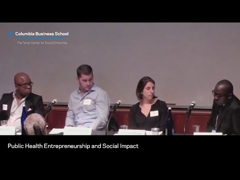 Public Health Entrepreneurship and Social Impact