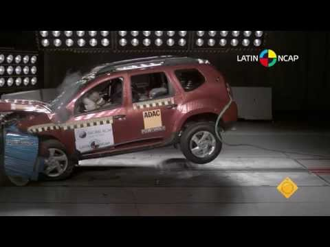 renault duster crash test do latin ncap youtube. Black Bedroom Furniture Sets. Home Design Ideas