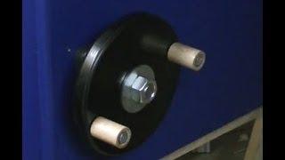 Making a Wooden Hand Wheel - Handkurbeln herstellen
