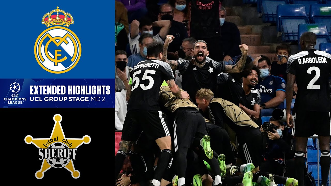 Download Real Madrid vs. Sheriff: Extended Highlights   UCL Group Stage MD 2   CBS Sports Golazo