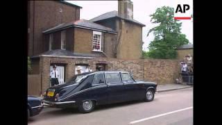 UK - Wedding Imran Khan and Jemima Goldsmith - 1995