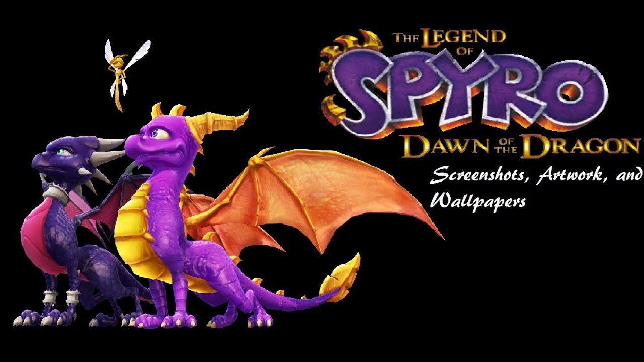 The Legend Of Spyro Dawn Of The Dragon All Screenshots Artwork