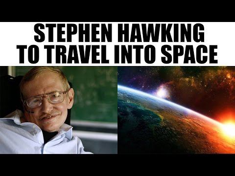 Stephen Hawking to travel into space on Virgin Galactic spacecraft | Oneindia News