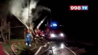 Pożar Domu Białystok 2017 Video