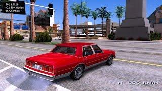 Chevrolet Caprice Brougham 1986 Fix GTA San Andreas 1440p 2 7K 60FPS