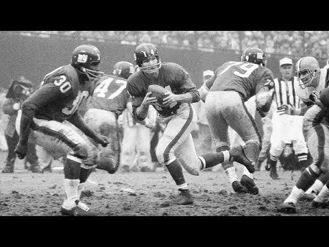 Remembering Y.A. Tittle | 2x MVP, 4x All-NFL, & Pro Football Hall of Famer | NFL Legend