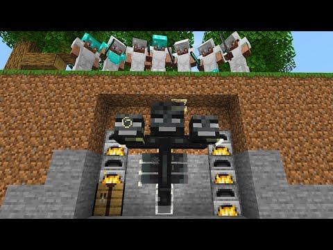 Minecraft Manhunt but I can SHAPESHIFT...