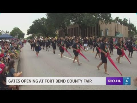 Gates open at Fort Bend County Fair