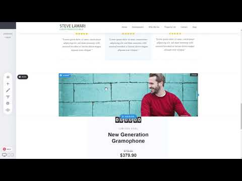 How to use Levobuilder: Page Creation