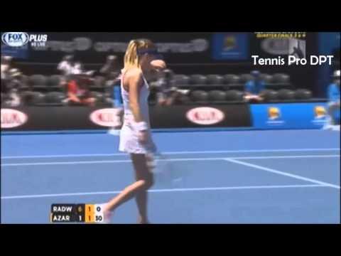 Victoria Azarenka vs Agnieszka Radwanska ~ Highlights    Australian Open 2014  QF