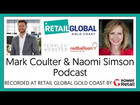 Naomi Simson And Mark Coulter Podcast