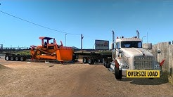 KENWORTH T800 8X4   Transportando Bulldozer de Sonora a Arizona   Lowboy Jeepdolly