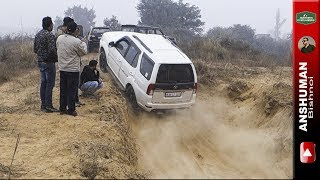 Thar, Scorpio 4wd, Storme 400, XUV AWD, Endeavour: Try a new climb. 25-12-2016