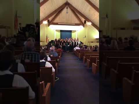 Tuscaloosa Christian school choral 'Nearer my God'