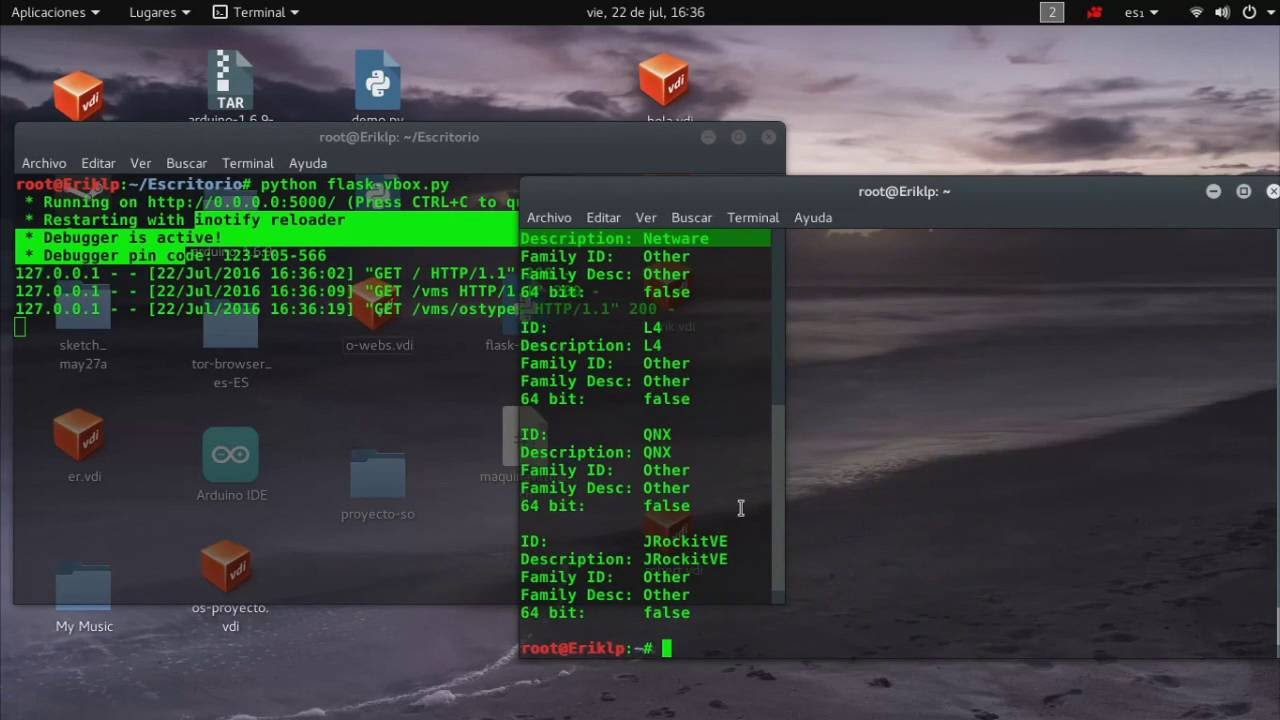 Webservices en python utilizando la librer a flask proyecto de sistemas operativos youtube - Librerias python ...