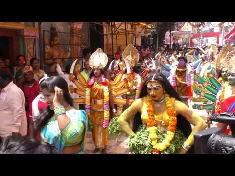 Secunderabad Bonalu 2017 l Ghatam l Rangam l Procession in ujjaini Mahakali Bonala Jatara