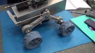 Robotic Lunar Rover Suspension